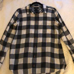 JCrew boyfriend fit button down flannel